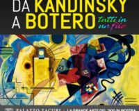 Exposition de Kandinsky à Botero, Tapisserie au Palazzo Zaguri